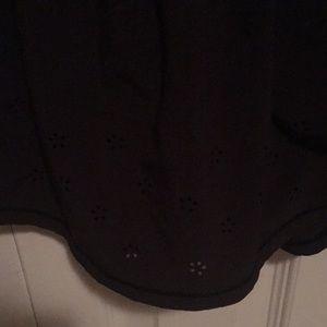 lululemon athletica Shorts - Lululemon black flower shorts sz 4 59511